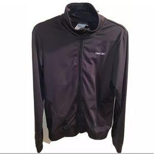 Reebok Track Jacket, Black, Womens Size Medium